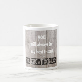 cup with funny saying