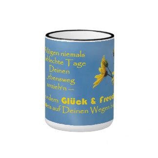 Cup with Irish benediction saying Ringer Coffee Mug