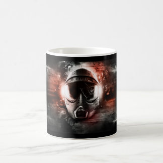 Cup with mask of Paintball. M-2 Classic White Coffee Mug