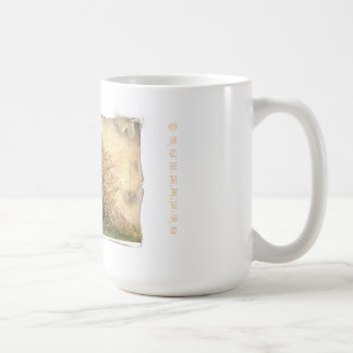 Cup with motive for Easter and text print