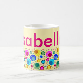 """Cup with name """"Isabella """" Classic White Coffee Mug"""