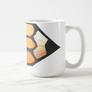 Cup with No.2 Pencil by Ken swanson Classic White Coffee Mug