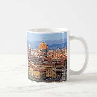 Cup with panoramic of Florence Mug