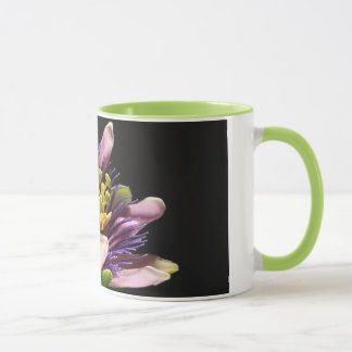Cup with passion flower 01
