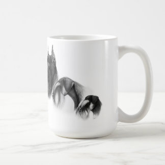Cup with schnauzers classic white coffee mug
