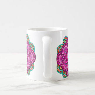 Cup with sends them pink
