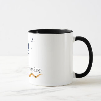 Cup with squid-thinker