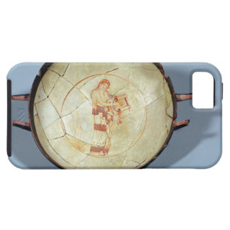 Cup without foot, standing Muse playing the lyre, iPhone SE/5/5s Case