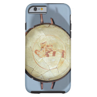 Cup without foot standing Muse playing the lyre iPhone 6 Case