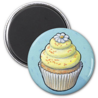 cupcake #105 2 inch round magnet