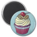 cupcake #120 refrigerator magnet