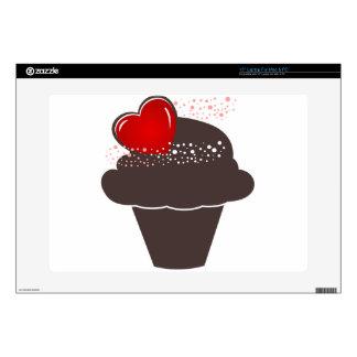 """Cupcake 15"""" Laptop Skin"""