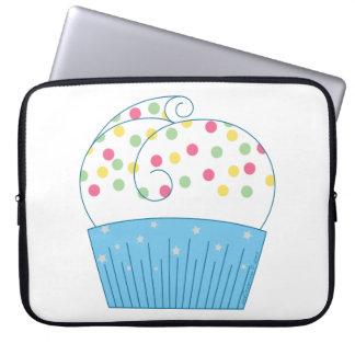 Cupcake 1 laptop computer sleeves