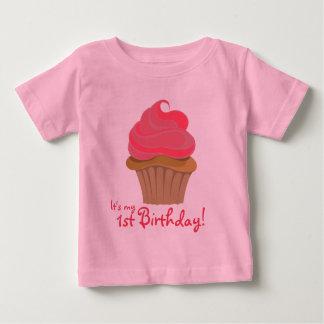 Cupcake, 1st Birthday! Baby T-Shirt