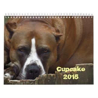 Cupcake 2015 Calendar