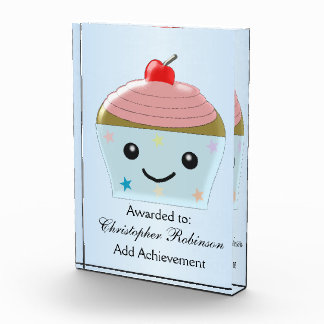 Cupcake Acrylic Award