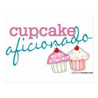 Cupcake Aficionado Postcard