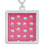 Cupcake and Balloons Pattern Custom Necklace