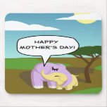 Cupcake and Butters Happy Mother's Day! Mouse Mat