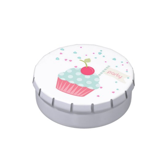 Cupcake and Confetti Jelly Belly Tin