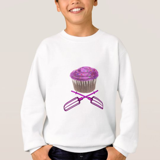 Cupcake and Crossbeaters Sweatshirt