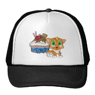 Cupcake and Kitten Trucker Hat
