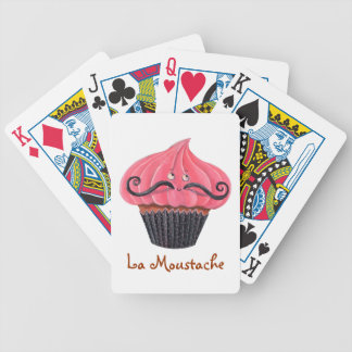 Cupcake and La Moustache Card Decks