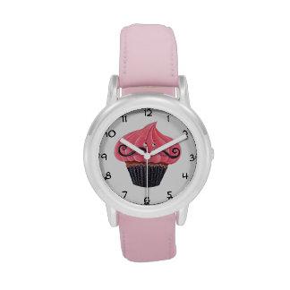 Cupcake and La Moustache Wrist Watches