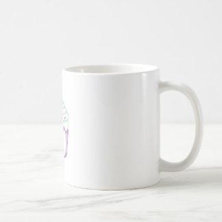 CUPCAKE APPLIQUE COFFEE MUGS