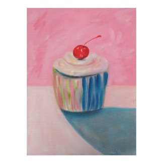 Cupcake Art Posters - Gifts - Bright Kitchen Gift Poster
