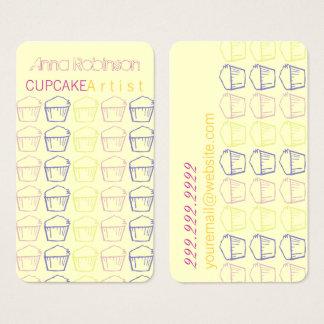 Cupcake Artist Business Card