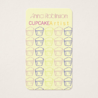Cupcake Artist Business Card