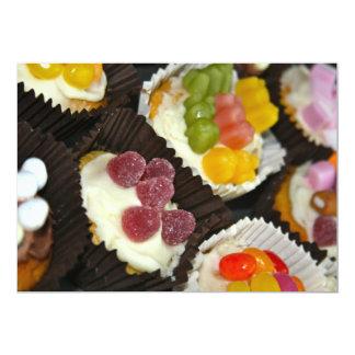 Cupcake  assortment Invitation