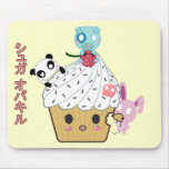 Cupcake Attack! (>_<) Mouse Pad