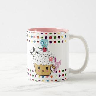 Cupcake Attack Sugar Skulls Coffee Mugs