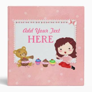 Cupcake Avery Binder