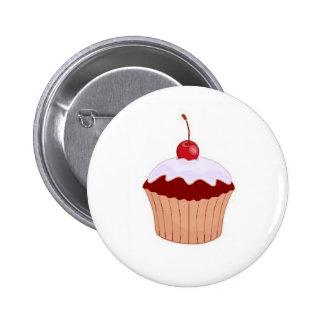Cupcake Badge Button