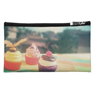 cupcake cosmetic bags