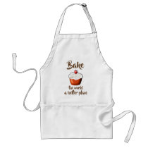 Cupcake // Bake the world a better place Adult Apron