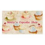 Cupcake Baker's Business Card