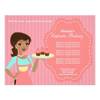"Cupcake Bakery 8.5"" X 11"" Flyer"