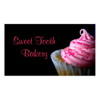 CupCake,Bakery,Buisness card,fun,cute,chic,yummy Business Card