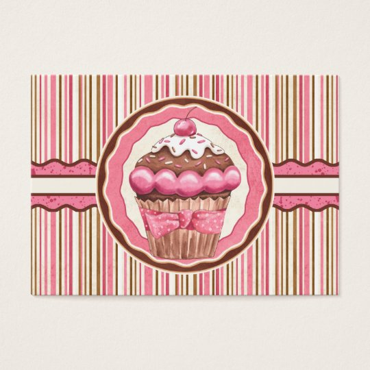 Cupcake Bakery Business Card- SRF Business Card