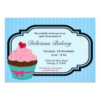 Cupcake Bakery Card