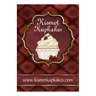 Cupcake Bakery Chubby Business Card