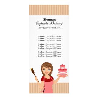 Cupcake Bakery Custom Rack Card