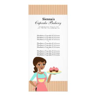 Cupcake Bakery Custom Rack Cards
