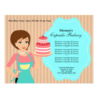 Cupcake Bakery Full Color Flyer