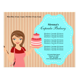 Cupcake Bakery Flyer Design