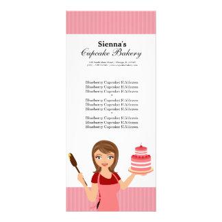 Cupcake Bakery Full Color Rack Card